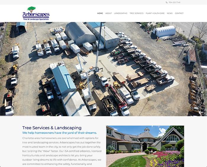 Arborscapes Website