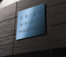 Grier Wright Martinez Branding
